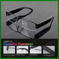 Wholesale Hot Selling HD P Spy Eyewear Sunglasses Camera DVR Video Recorder V13 Gigital Glass Camcorder