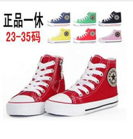 Spring / Autumn best boys shoes - best selling size children canvas shoes kids sports sneakers for boys and girls children shoes