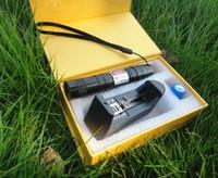 Wholesale 1000mw w nm purple blue violet laser pointer focusable burn black match cigarettes