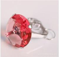 Wholesale The diamond shape keychains wedding key chains fashion Key Rings as gift key ring keychain