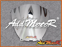 Pare-brise Addmotor pour Yamaha YZF600R YZF-600R YZF 600R 1996-2007 96-07 Bubble Electroplate Windscreen WS3082