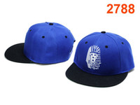 Wholesale Last Kings Snapbacks Stylish Blue Fitted Hats Black Flat Brim Snap Back Caps White Logo Embroidery High Quality Cheap New Ball Caps HOT SALE