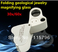 Wholesale 30 x mm x12mm Glass Jeweler Geology Antique Loupe Eye Magnifier Magnifying