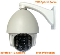 Wholesale 27x Zoom TVL Outdoor m IR High Speed Dome PTZ Camera