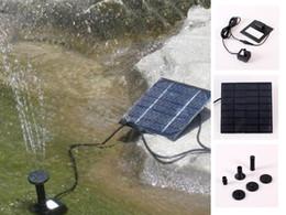 Wholesale Pool Water Pump Garden Plants Watering Kit Solar Power Fountain Soar Pump Water Pump APPA0762