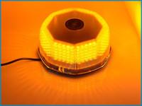 Strobe Light amber led strobe lights - New LED Car High Power Strobe Light Lamp Warning light V Amber yellow