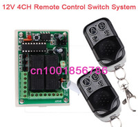 Wholesale 1 Receiver Transmitter V CH Channel Wireless Remote Control System Working Way is adjustable M F garage door lamp