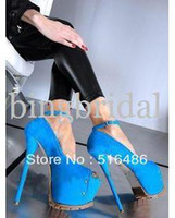 New arrival 2013 women's sexy open toe shoe 16cm color block...