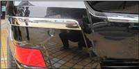 auto accessories bumper - Car auto accessories rear bumper trim abs chrome For Mercedes Benz GLK GLK per set