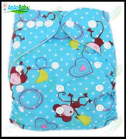 Wholesale Jctrade Cartoon Diapers With One Microfiber Inserts Baby Cloth Nappies