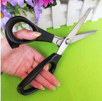 Wholesale Stainless Professional Dressmaking Tailor Sewing Pinking Shears Scissors Tool L157