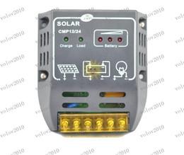 Controlador de carga solar LLFA1273 Regulador 10A 12V 120W 24V 240W controladores de paneles solares PWM Regulador Solar