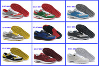 Flat Men Rubber Air Running Shoes Mens 87 Sports Sneakers Shoes Max New Arrival Free Shipping ID 87 M60-M68