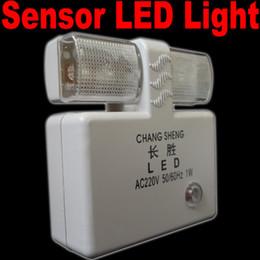 Wholesale AC Powered Wall Plug LED Automatic Light Control Sensor Nightlight
