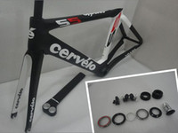 Road Bikes Carbon Fibre UD Cervelo S5 TEAM VWD Carbon Road Bike Frame 54cm+fork+seatpost+headset+seat clamp