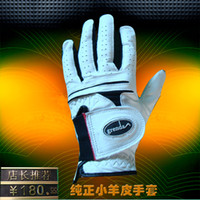 Wholesale 30pcs golf gloves real leather gloves skin grenda brand size S M L cost