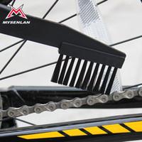 dirt bike chain - HOT Cleaner Machine Bike Cleaning Brush Wash Chain Brush Dirt Device Bike Brushes Scrubber Wash Clean Tool Kit Bicycle Accessories HW0121