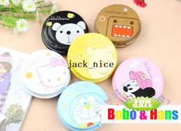 Wholesale new cute cartoon animals designs contact lenses box amp case lens Companion box