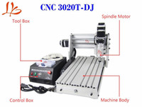 Wholesale 110V Mini desktop engraving machine cnc T DJ router cnc engraver Triaxial Numerical Control upgraded from cnc t