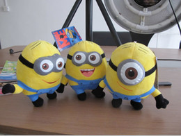Wholesale 3d eyes despicable me inch god steal milk dad stereo glasses version of soybean plush doll styles