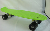 22inch Green New Fresh PP Material New Arrival Penny Skateboard Penny skate Penny Boards Penny Nickel Penny Cruiser Plastic Skateboard