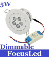 Wholesale 2013 Brand New W Led Ceiling Light Nature White K Angle Dimmable Led Fixtue Downlight V Warranty Years