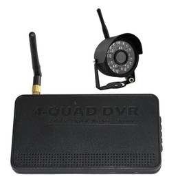 Digital Wireless DVR Kit with weatherproof night vision camera, Support 32G SD card Motion Detection recording