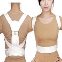 back and shoulder support - make beautiful children and women Magnetic Back Shoulder Corrector Posture Orthopedic Support Belt Brace size M