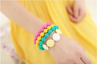 Wholesale Fluorescence Bangle Bracelets Jewelry Womens Mens Silicone Beads Shape Bangles Bracelet The Cheap