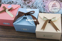 Wholesale colourful cake box cake container bakerty package