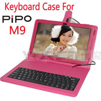 10.1'' PIPO M9 new cheap Leather case keyboard specificaly for PIPO M9 size 10.1 free shipping