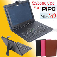 10.1'' PIPO M9 2013 new cheap Leather case keyboard specificaly for PIPO M9 size 10.1 free shipping