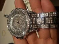 Wholesale Beautiful Luxury diamond for women ladies unisex fashion full rhinestone jewerly watches