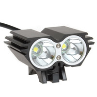 Wholesale Securitylng Lumens CREE XM L U2 LED Bicycle Light bike headlamp mAh Battery Pack Charger