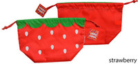 Boy picnic backpack - lowest price retail children animal cartoon bento bags infant lunch bag handsome strawberry picnic bag canvas backpack color choose freely
