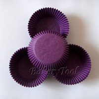 Wholesale dark purple cupcake liners baking paper muffin cups with FDA