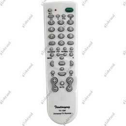 TV-139F Portable UNIVERSAL TV Remote Control FOR TV SETS 100pcs lot GHJC17