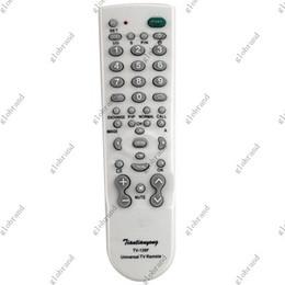TV-139F Portable UNIVERSAL TV Remote Control FOR TV SETS 100pcs lot GHJC17