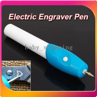 Wholesale New Engraving Electric Etching Engraver Pen Carve Hand Tool amp