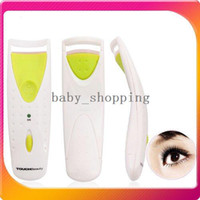 Wholesale Mini Portable electric Beauty Makeup Instant Heated Eyelash Eye Lash Curler