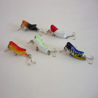 Wholesale 5PCS cm g Minnow Grasshopper Lure Hard Fishing Bait colors