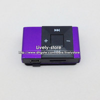 10pcs Mini Clip MP3 player with TF Slot support 2g 4g 8g tf ...