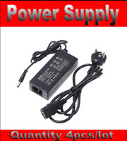 12V 5A Plug in AC Power Supply Adapter 4pcs AC 100-240V to DC 12V 5A Power Supply for CCTV Camera Free shipping