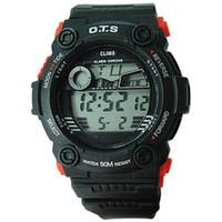 Complete Calendar Digital Rubber Trend AUDI outside sport electronic watch waterproof watch male multifunctional fashion male watch