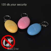 Wholesale new improved version very loud Personal Panic Alarm Anti Rape Anti Attack Safety Personal Security