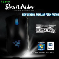 Wholesale Razer Deathadder Gaming Mouse dpi Infrared Brand New In Box Fast Shipping in Stock DHL FREE