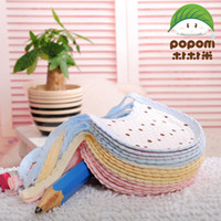 Wholesale cotton children baby bibs saliva towel babies Wipes Burp Cloth Scarf