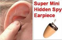 Wholesale 2pcs Invisible Wireless Micro Mini Spy Earpiece Earphone Earpiece spy earpiece