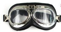 Wholesale motorcycle goggles vintage pilot biker goggle and retail D