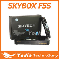 Wholesale 1pc Original Skybox F5S Full HD satellite receiver with VFD display support usb wifi Cccam Newcam MGcam post